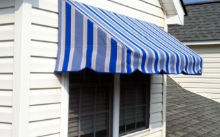 Residential Awning-R&R Canvas Awnings