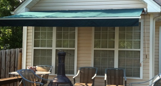 Residential Awnings-R&R Canvas Awnings