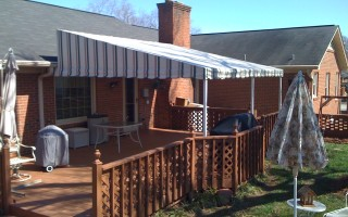 Greenville Awning -R&R Canvas Awnings