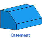 casement-awning